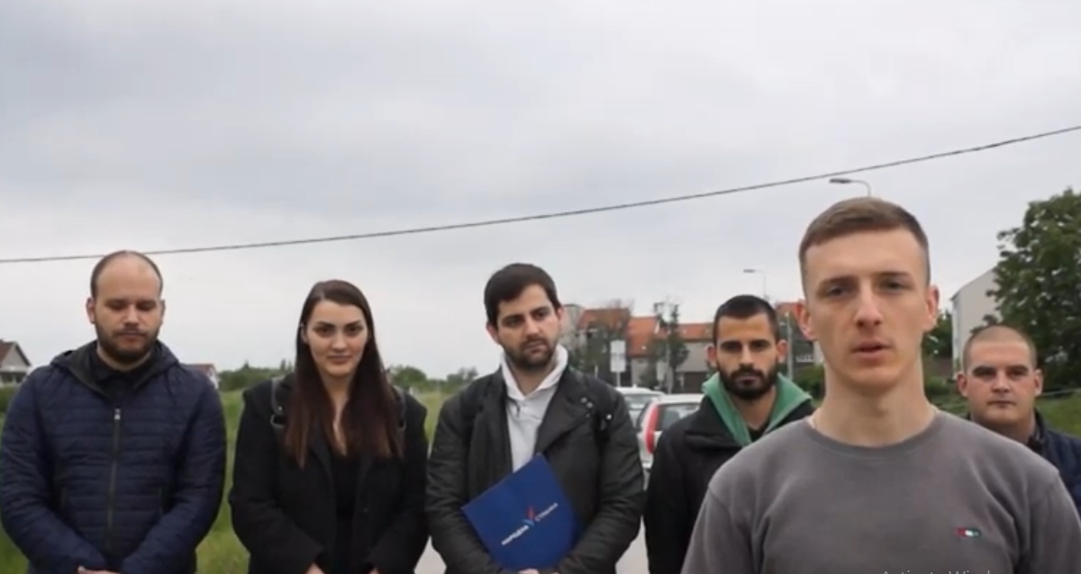 Омладина Народне странке Обреновац обележила петогодишњицу поплава
