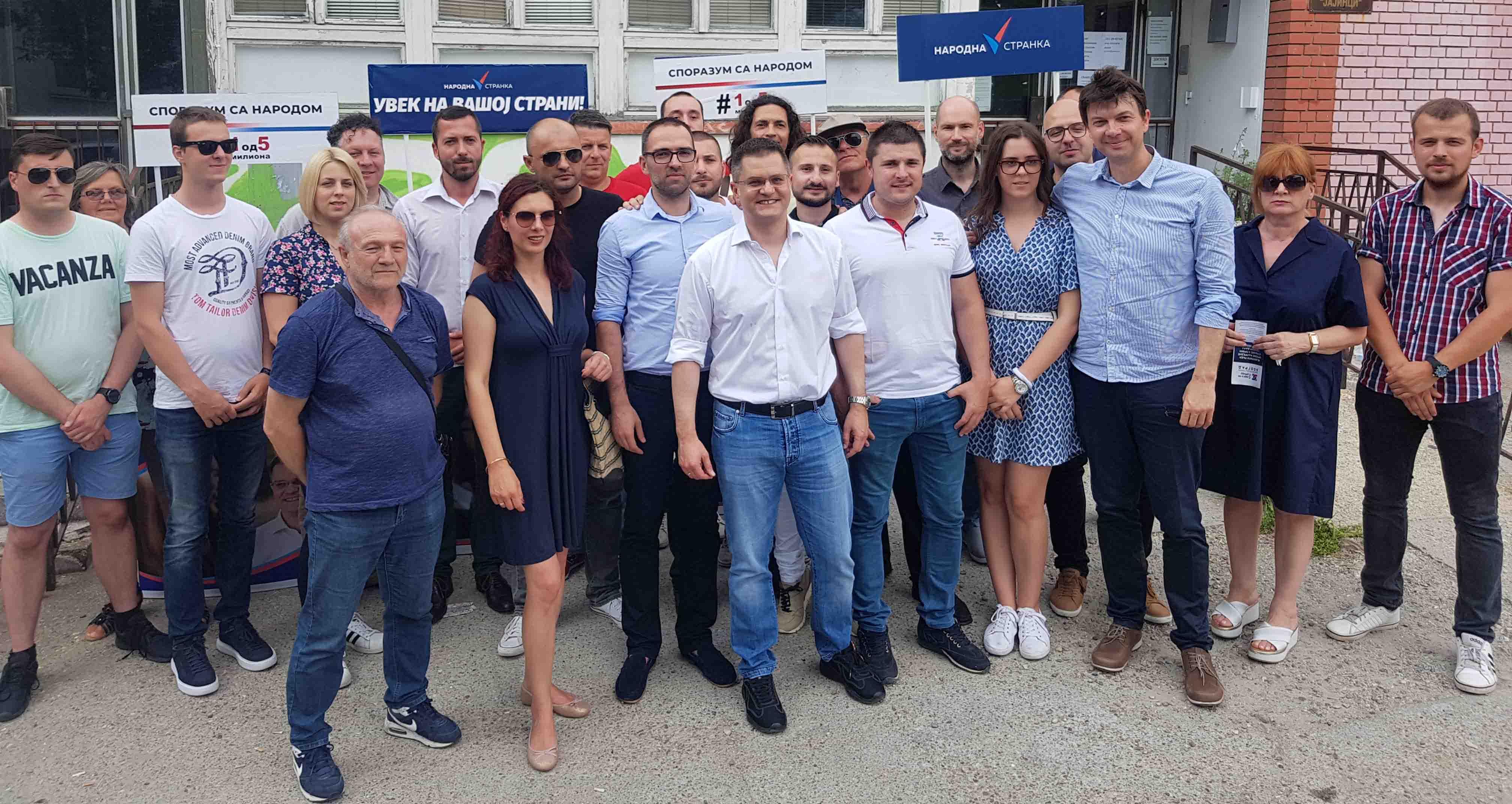 Јеремић: СНС се одржава на власти насиљем, одговараће сви до једног
