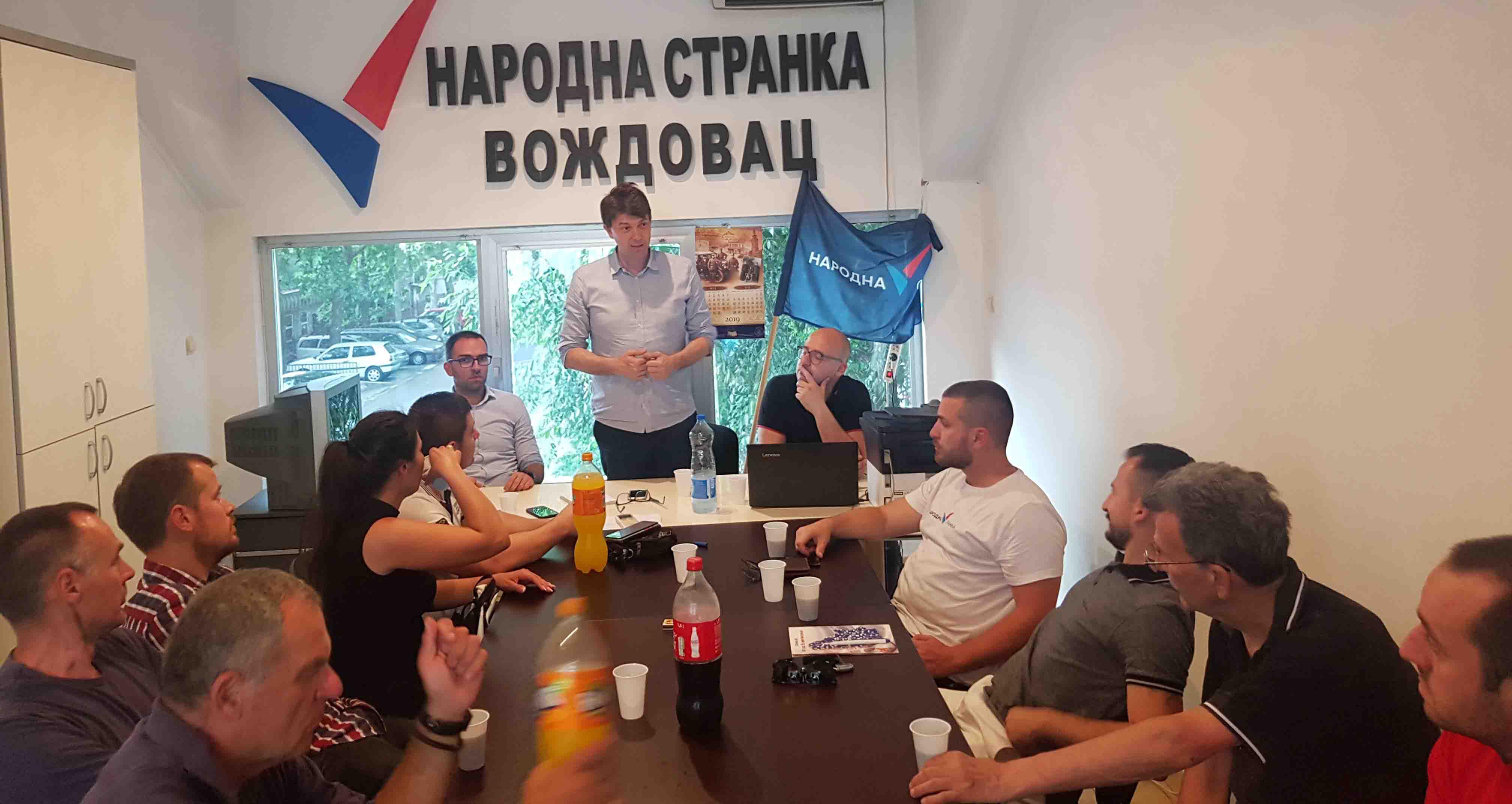 Јовановић: Напредњаци, због вас је Београд стао, ускоро ћете бити само ружна прошлост!