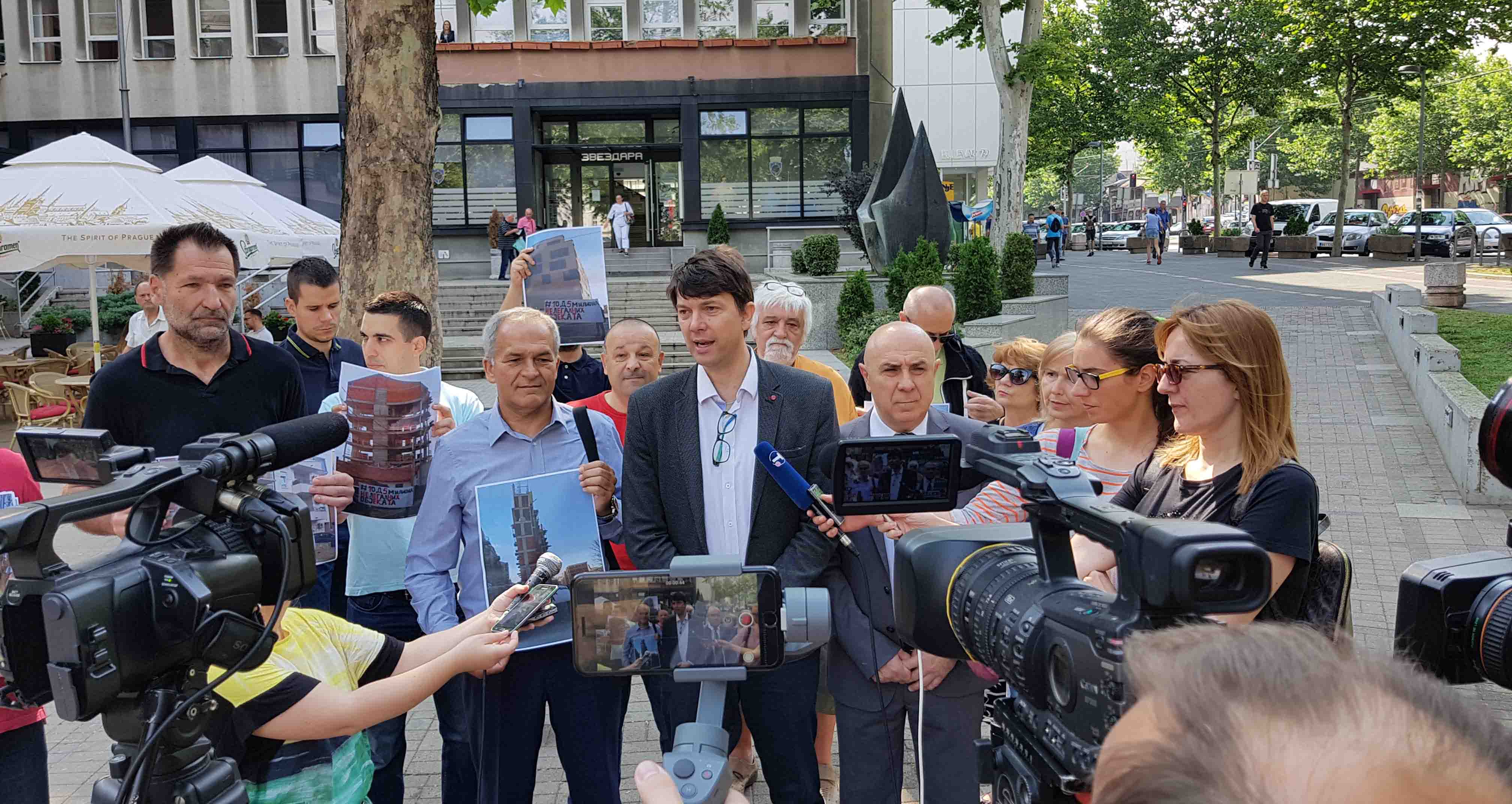 Јовановић: Бојкот свих скупштина општина у Београду, СНС реагује само на притисак