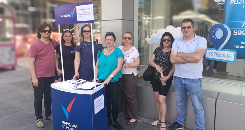 Народна странка Крагујевац: Петиција за смену министра Шарчевића