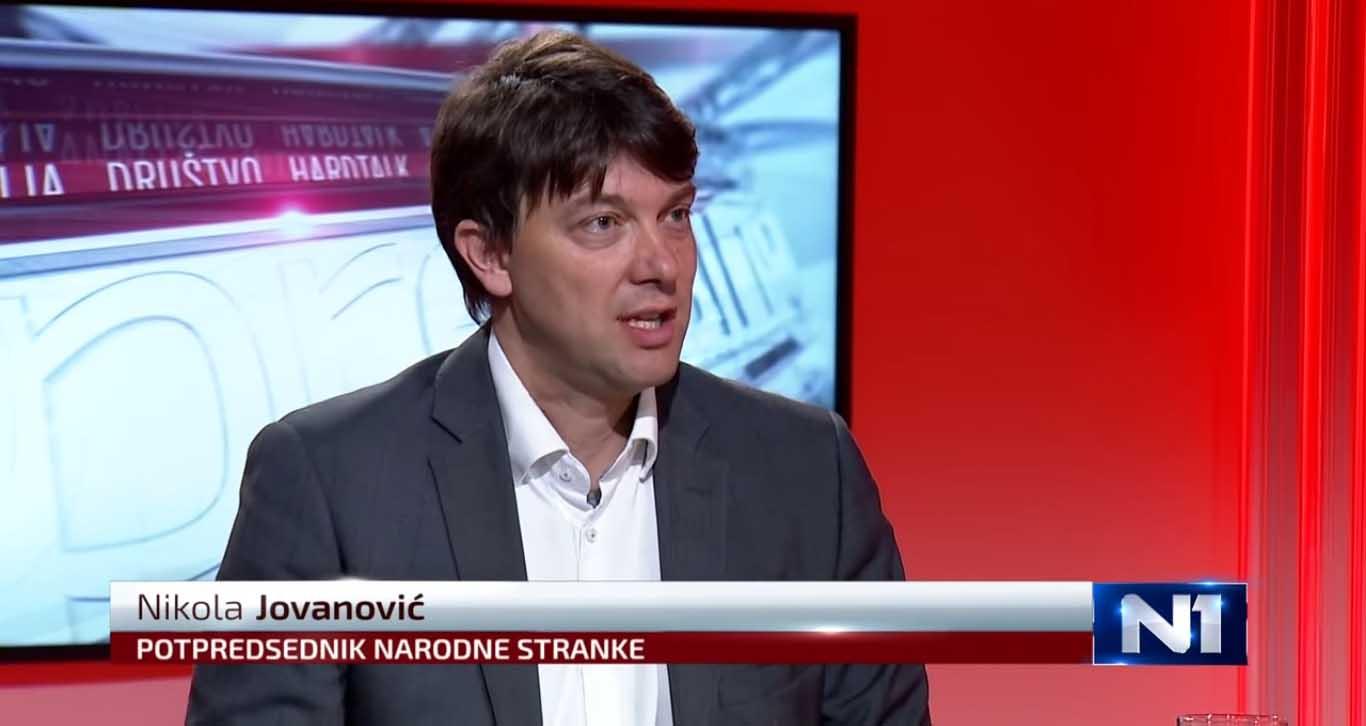 Јовановић: Дијалог са влашћу само око изборних услова
