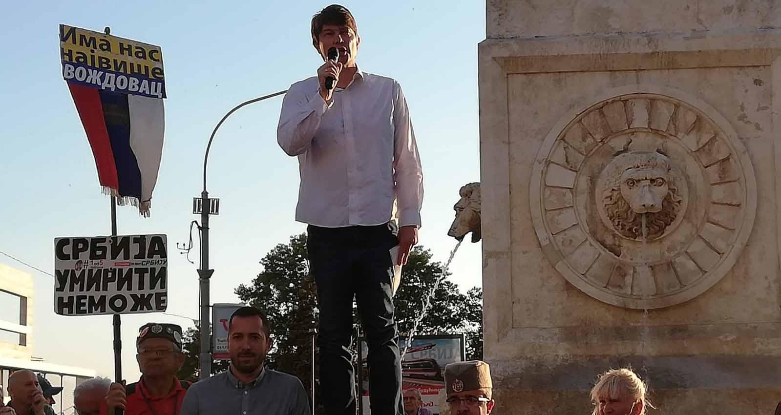 Јовановић: Протестима постављени темељи нове Србије, победићемо ако избори буду фер