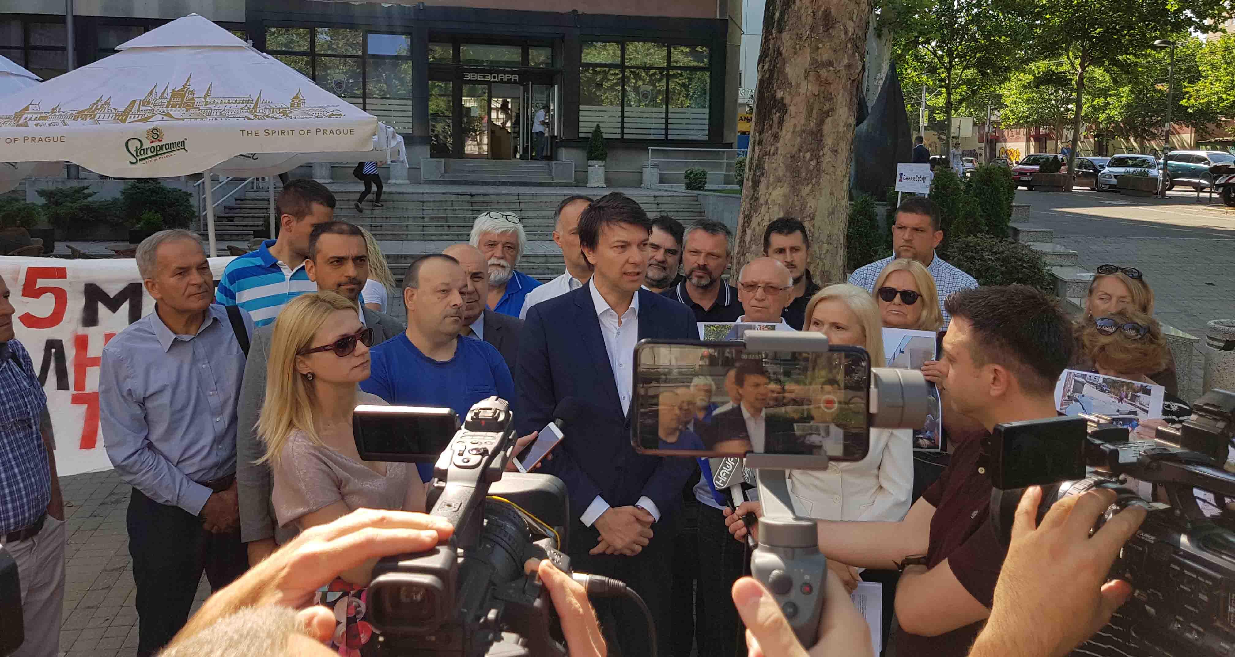 Јовановић: Градска власт лажно приказала 67 милиона евра као приход у буџету
