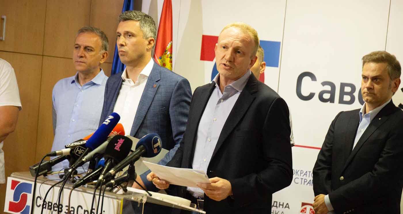 Савез за Србију поднео кривичну пријаву против Небојше Стефановића због дипломе школе која не постоји