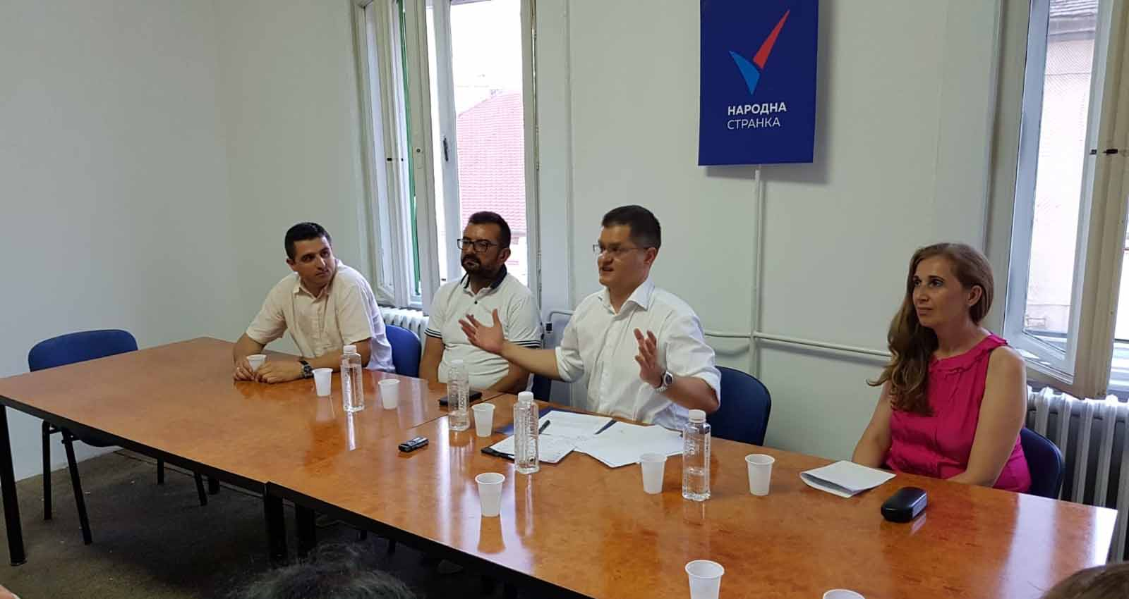Јеремић: Нема суштинског напретка, крећемо се ка бојкоту избора