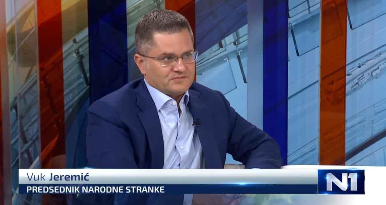 Јеремић: Одлука о бојкоту коначна, избори ће донети трауму фаталну за режим