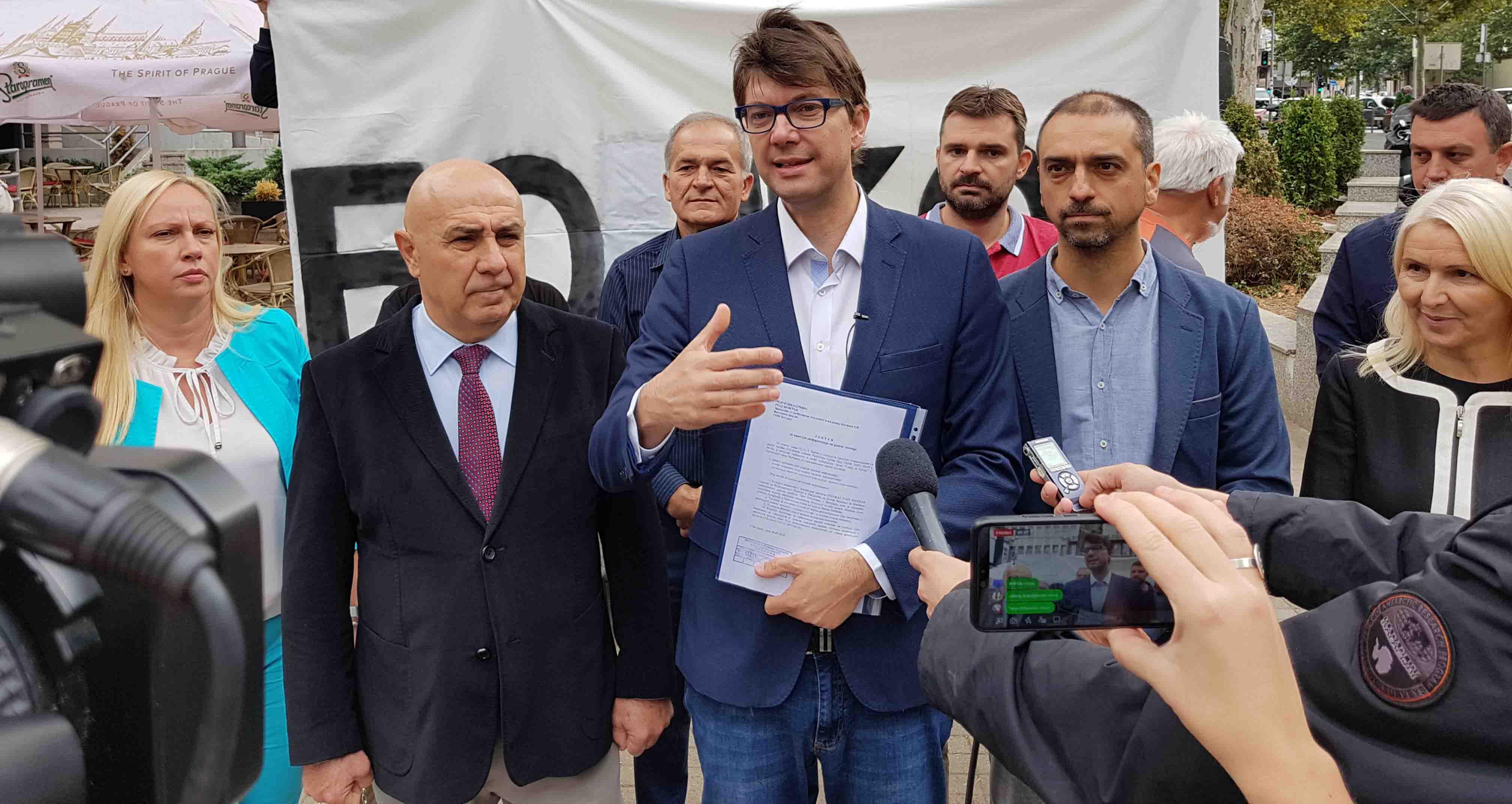 Јовановић: Весић слагао о уговору за Трг Републике, неко ће морати у затвор