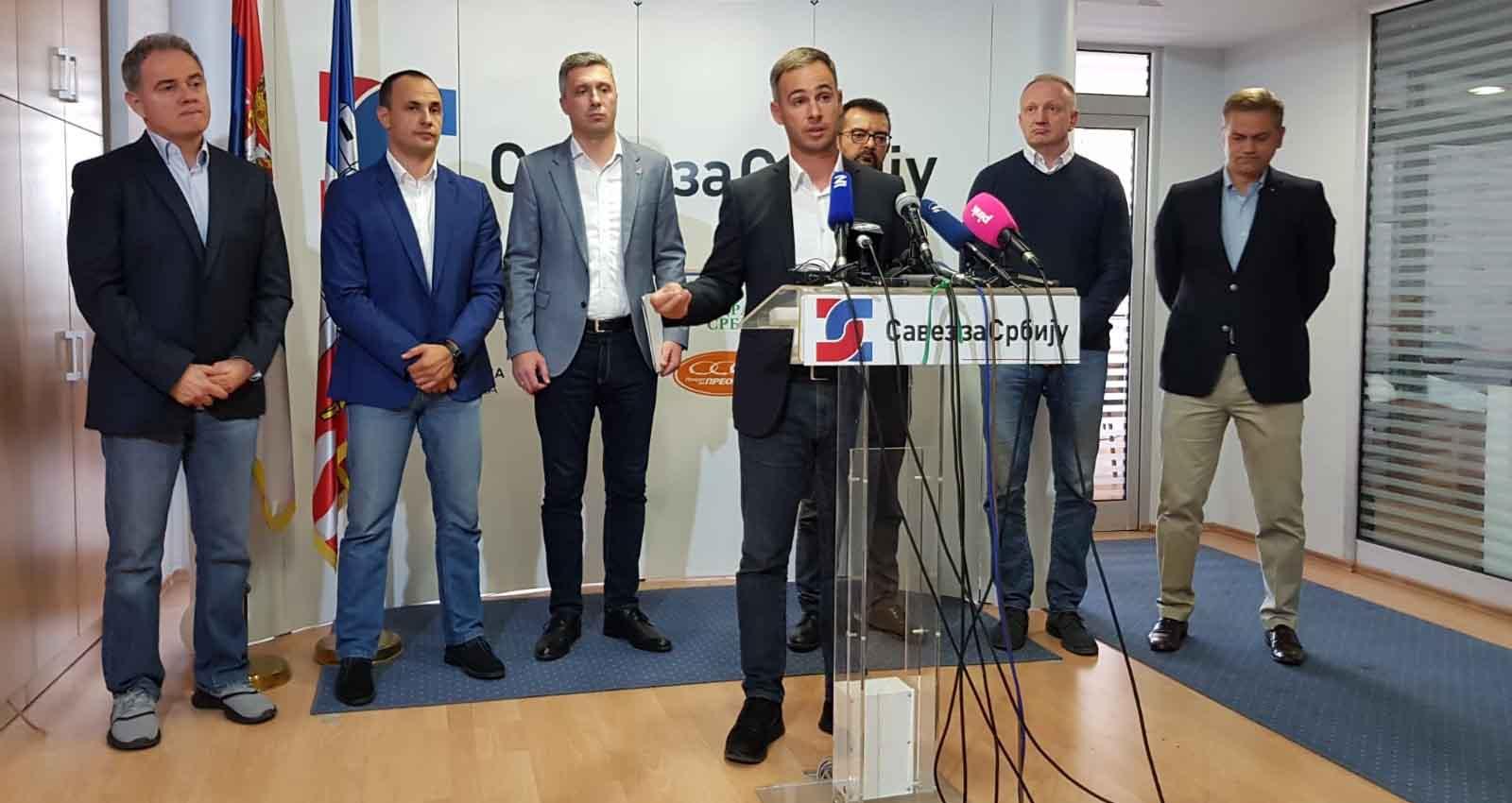 Алексић: Нисмо на пијаци, нема погађања око изборних услова, на режиму је да их обезбеди