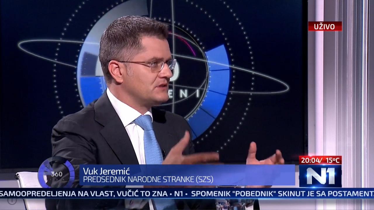 Јеремић: Сумануто је изјашњавати се о политичкој независности Србије
