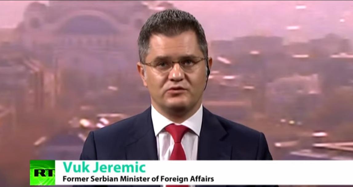 """Јеремић за руски РТ: Вучићево """"разграничење"""" води ка чланству Србије у НАТО"""