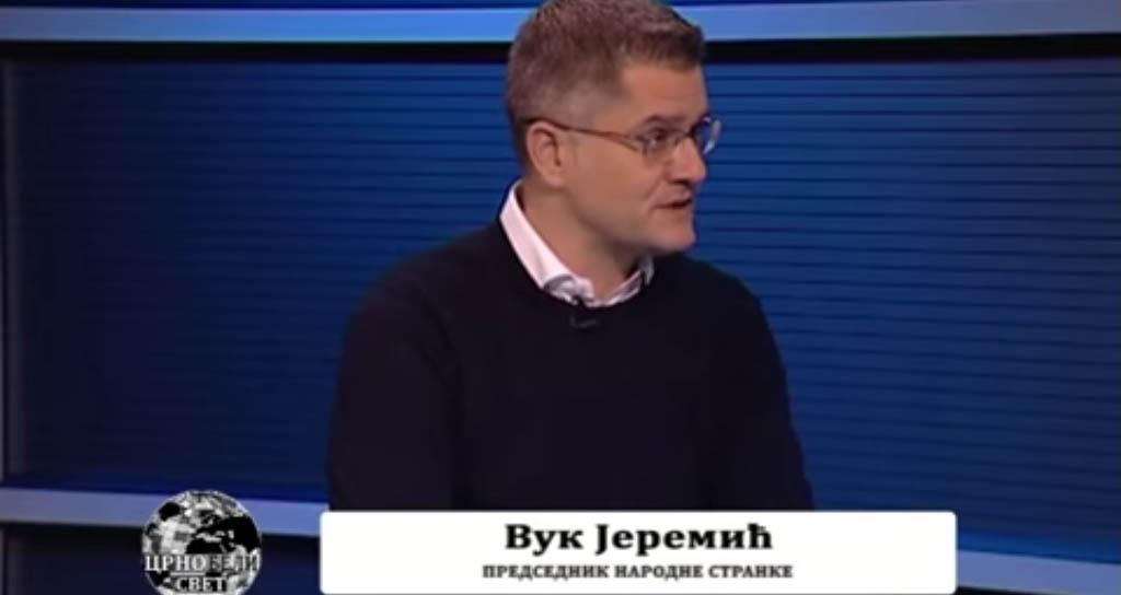 Јеремић: Бојкотом враћамо поверење народа, показујемо да смо спремни на жртву