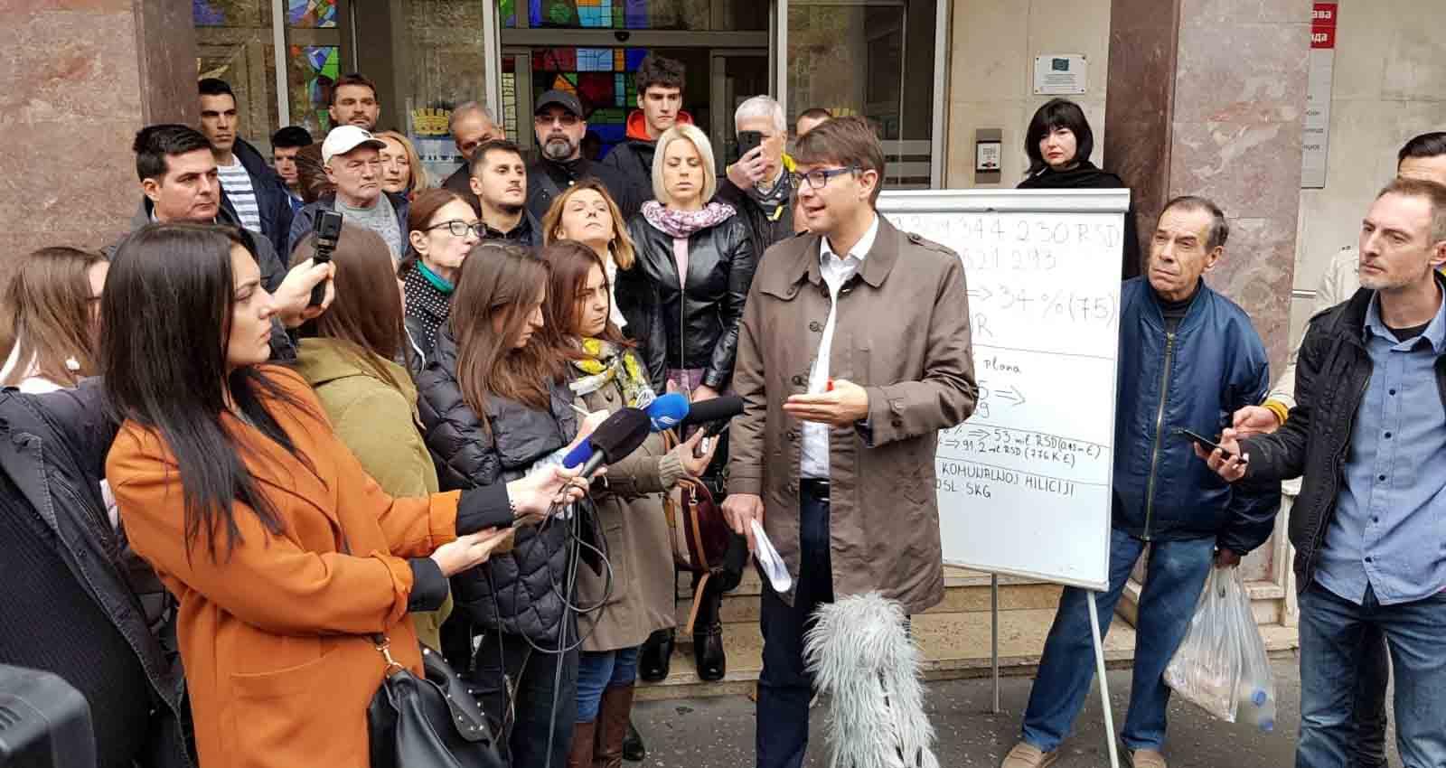 Јовановић: До 1. октобра реализовано само 34 одсто планираних инвестиција у Београду