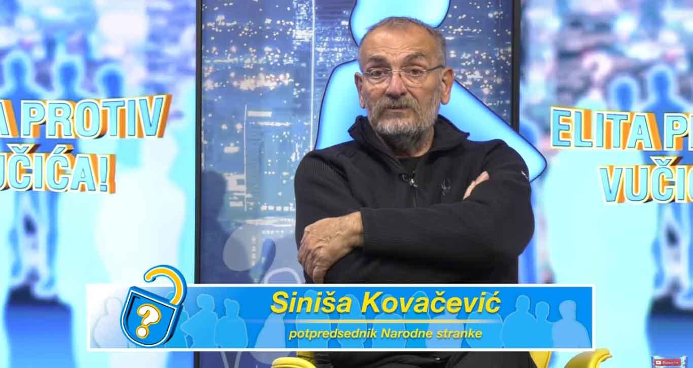 "Ковачевић: Бојкот да бисмо рекли ""не"" ненародној, корумпираној и подлој власти"