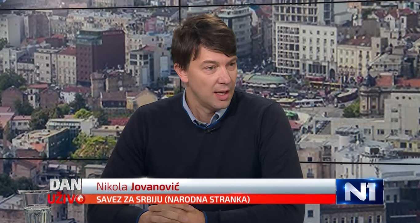 Јовановић: Обрадовић из Крушика је пример који би требало да следимо, а не оне који дају легитимитет режиму