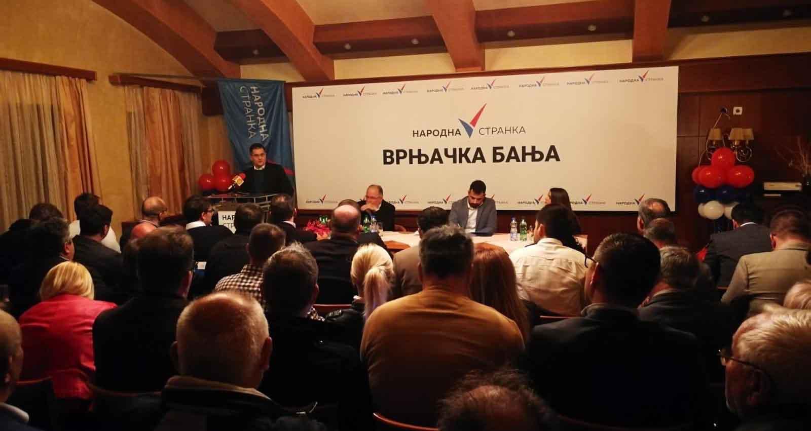 Врњачка Бања: Основан Општински одбор Народне странке