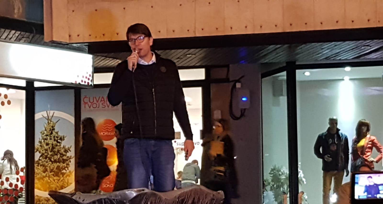 Јовановић: Обрадовићу дугујемо конкретну подршку, а грађанима обећавамо промену система