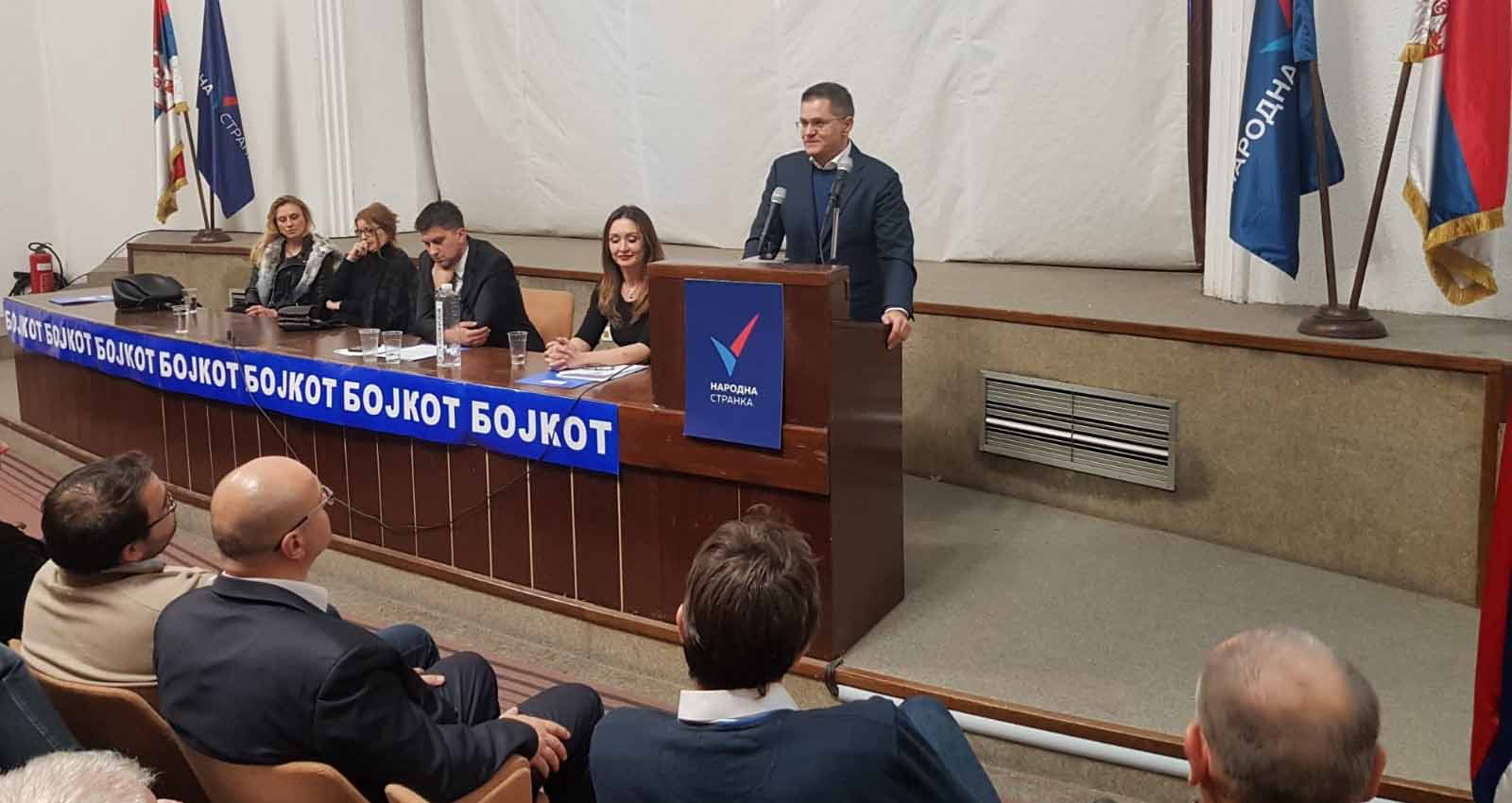 Нови Сад: Обележено годину дана од оснивања Градског одбора Народне странке