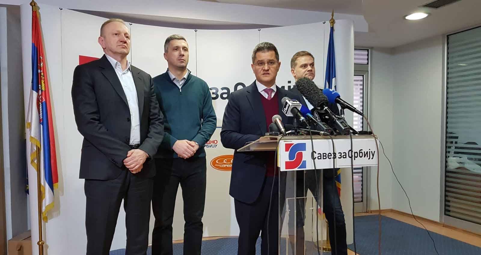 Јеремић: Сутра осам сати блокаде РТС-а, јер та телевизија осам година блокира истину