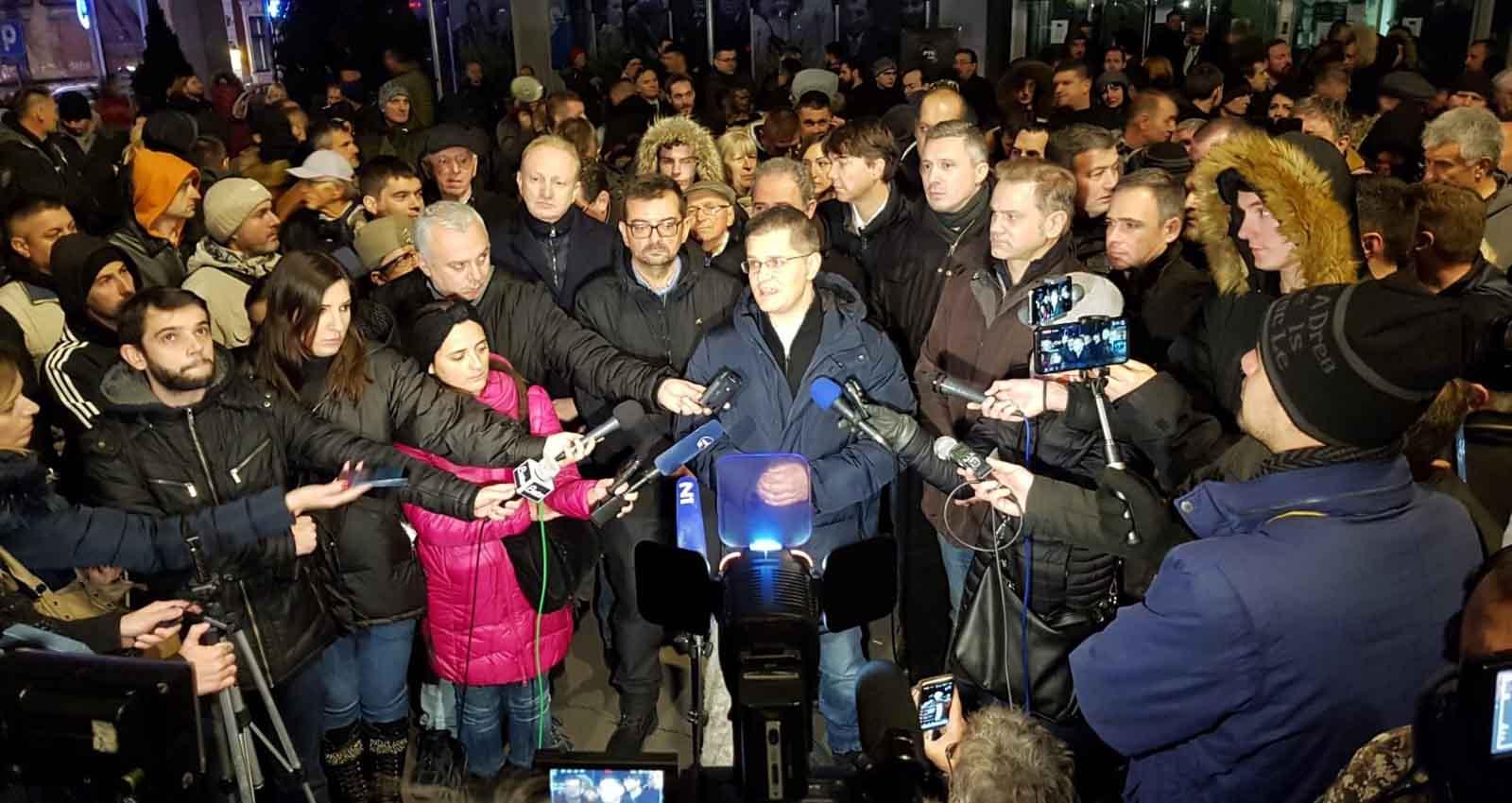 Јеремић: Успела блокада РТС-а, Јавни сервис морао да подели истину с грађанима