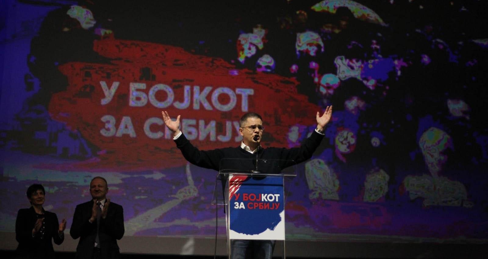 Јеремић на митингу опозиције: Победићемо ако останемо јединствени, ко изда…