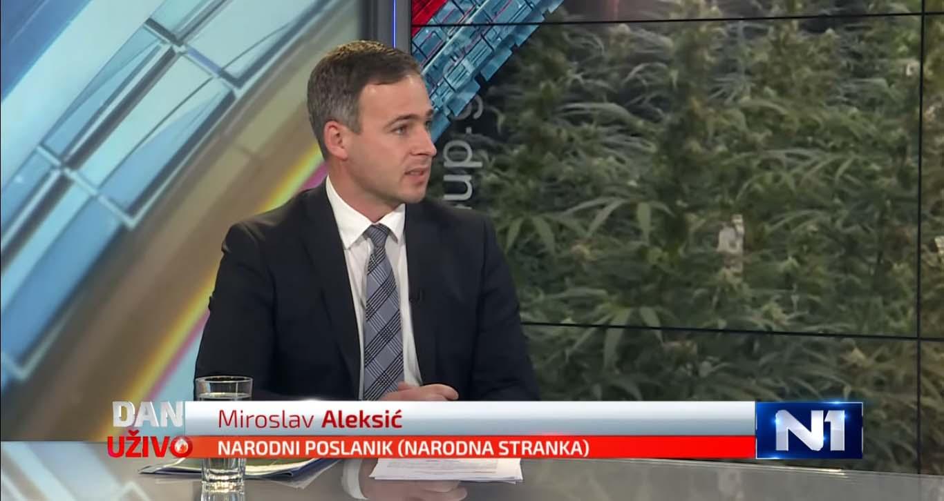 Алексић: Тужилаштво је Вучићев јавни сервис, правни систем је разорен