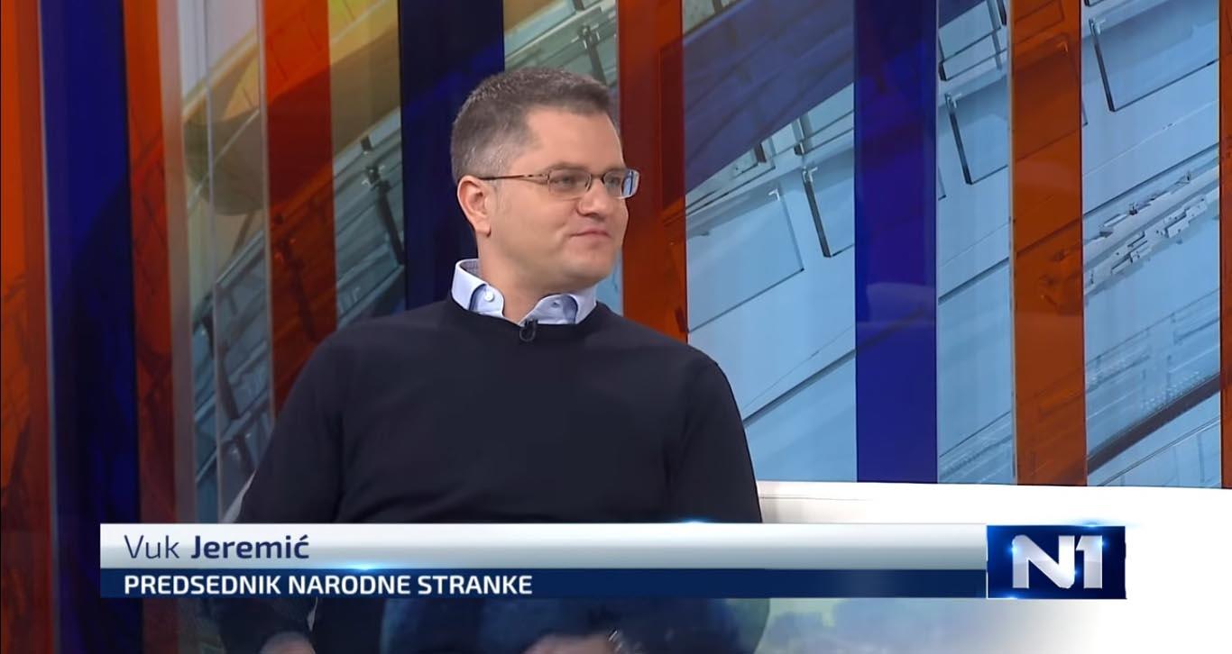 Јеремић: СЗС остаје јединствен у бојкоту, ко хоће на изборе ће се повући из Савеза
