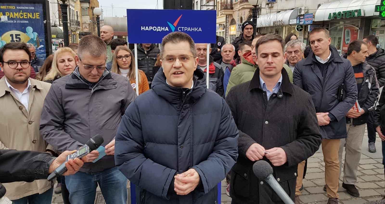Јеремић: У бојкоту је цела права опозиција, ко се још премишља, није нам ни потребан