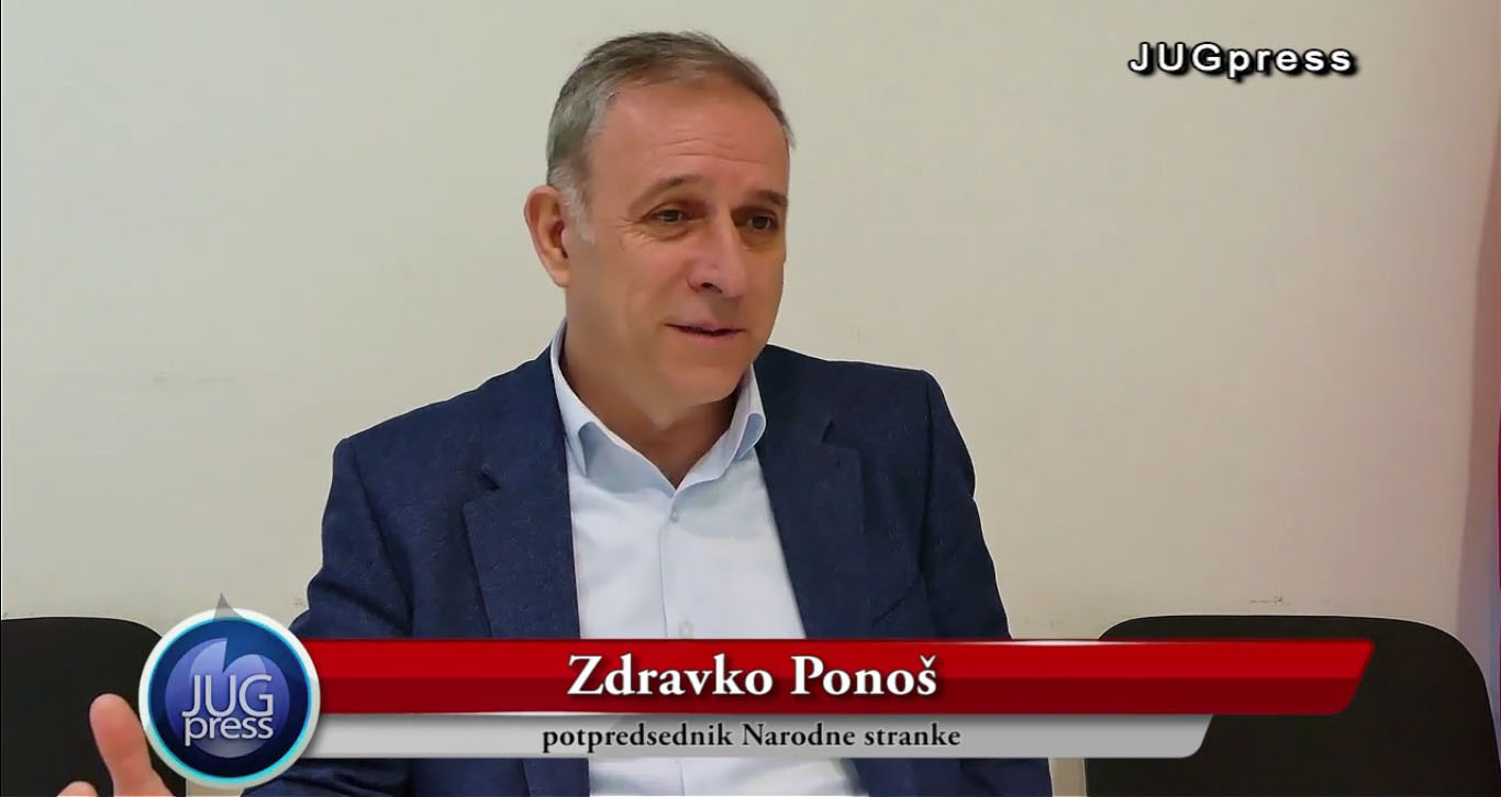Понош: СЗС је Савез за Србију, а не савез за Шабац или Параћин
