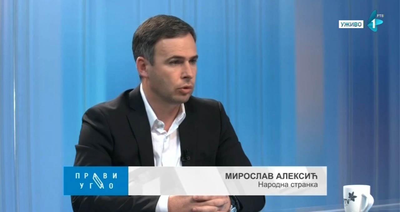 Алексић: Не могу се истовремено играти велика игра промене система и задовољавати ситни интереси