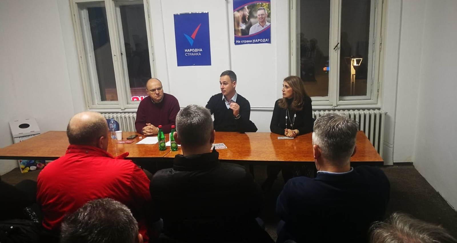 Алексић у Зрењанину: Излазак на изборе вратио би нас четири године уназад