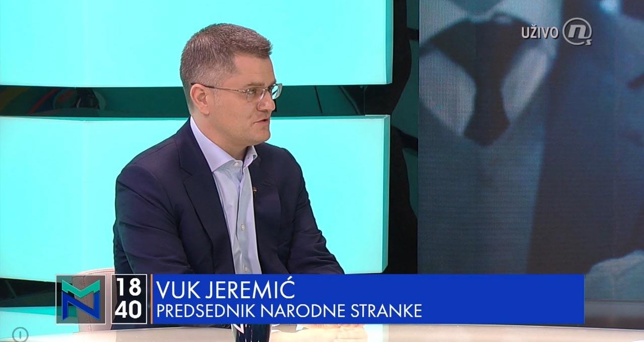 Јеремић за Нову: Било је турбуленција у СЗС и напада на Народну странку, али нисмо узвратили увреде