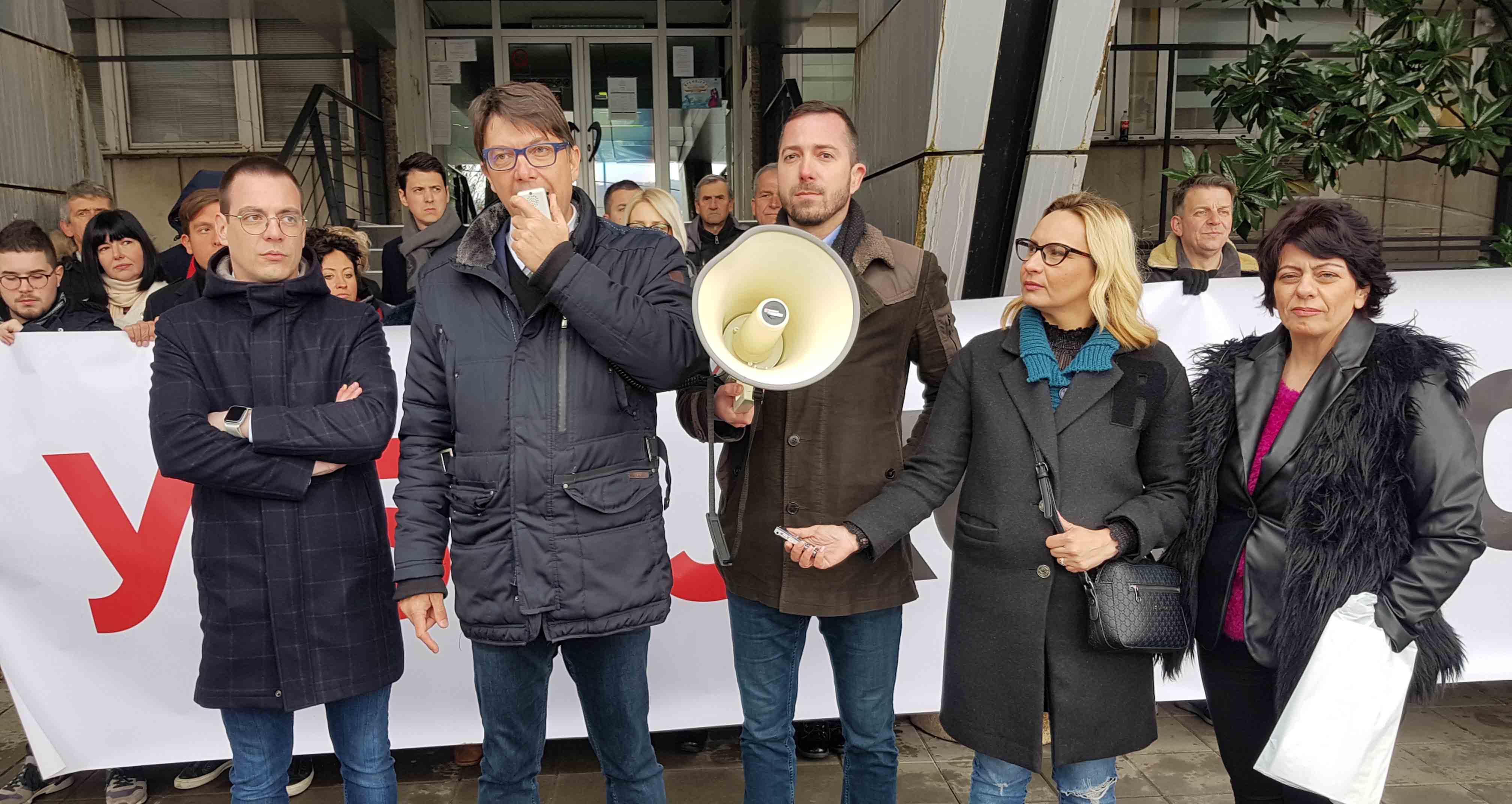 Јовановић: Упозоравам СНС да не злоупотребљава полицију у обрачуну са опозицијом