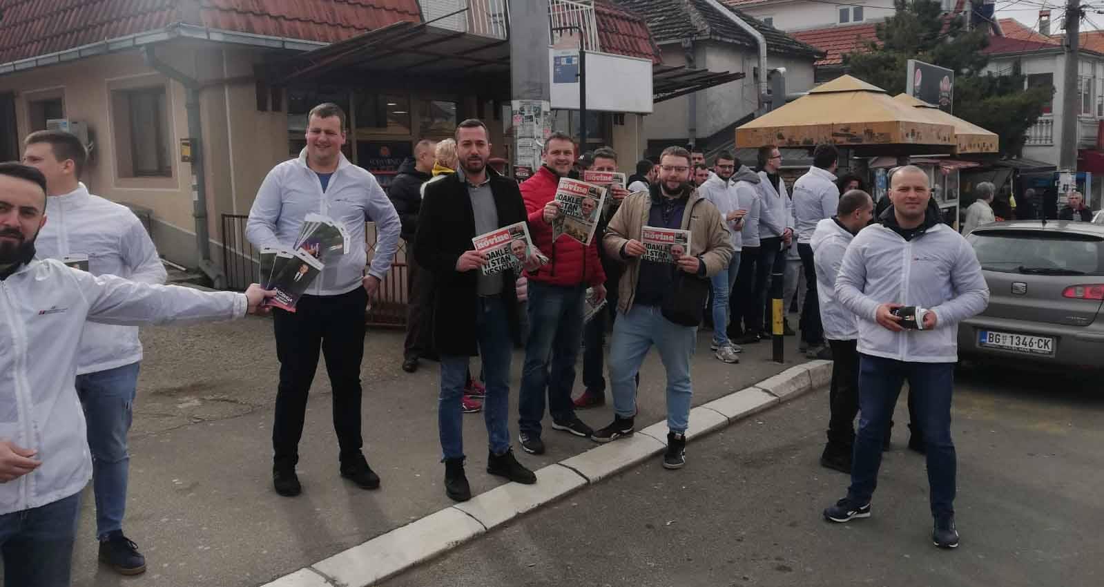 Народна странка Раковица: Руководство општине командовало нападом на наше активисте