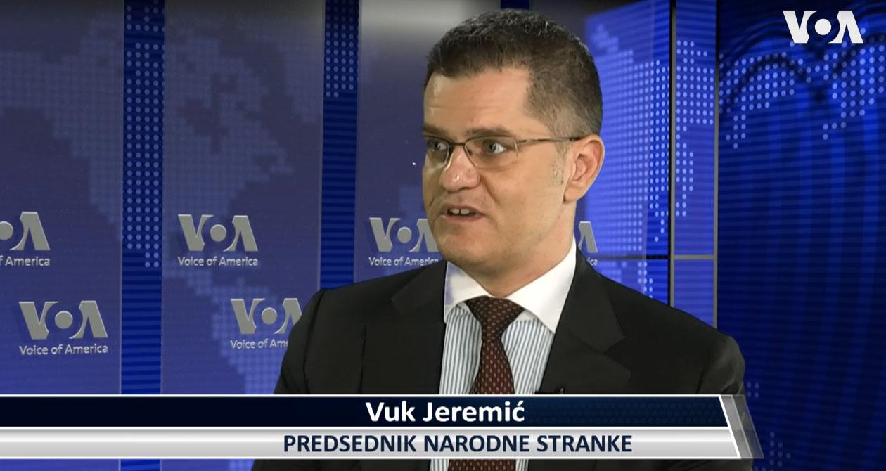 Јеремић за Глас Америке: Вучић договорио Косово у УН