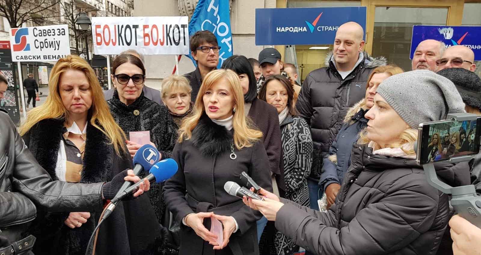 Дијана Вукомановић позвала жене у бојкот избора