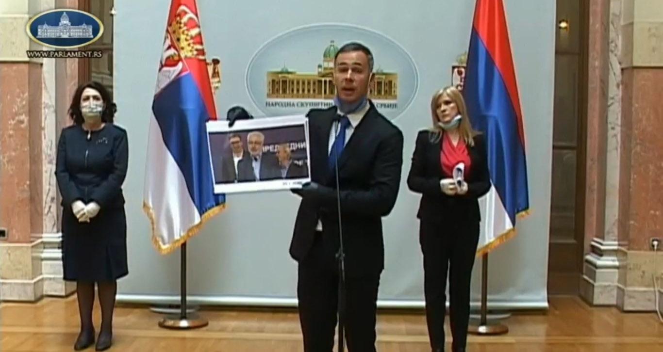 Алексић: У Србији најгори резултати у борби против вируса на Балкану, крива је власт, не грађани