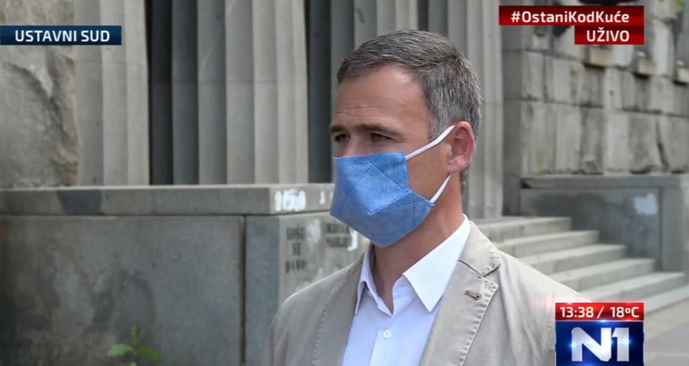 Алексић: Протест лидера и посланика опозиције у 18 сати због бруталног иживљавања власти