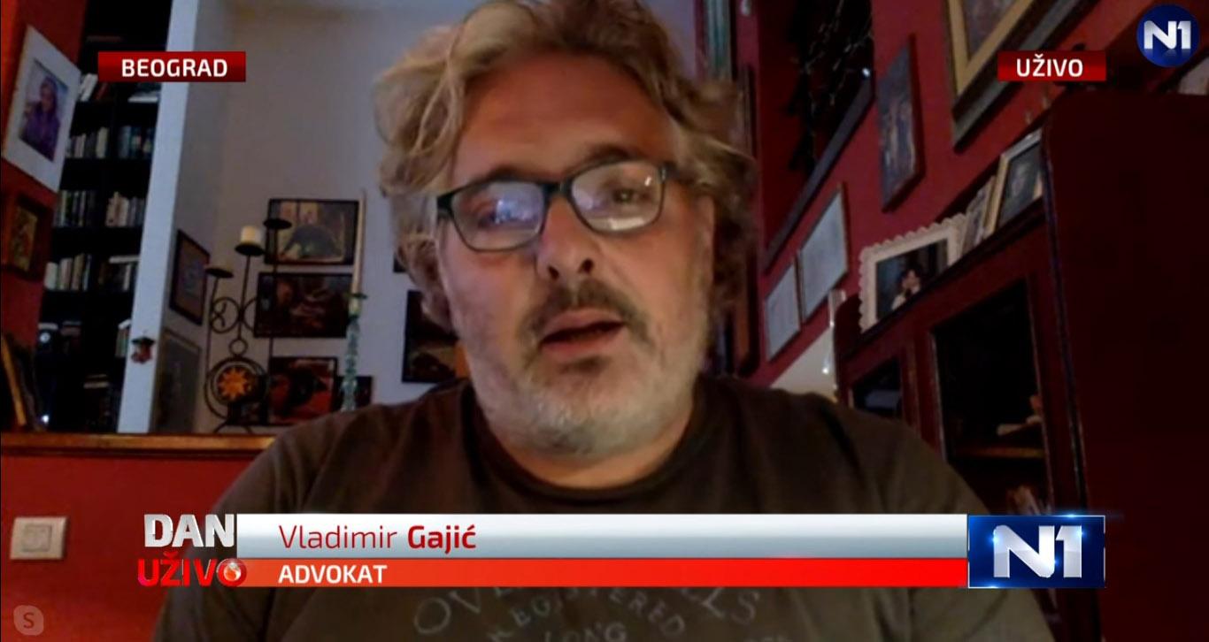 Гајић: Грађани немају поверења, власт репресијом покушава да утера страх