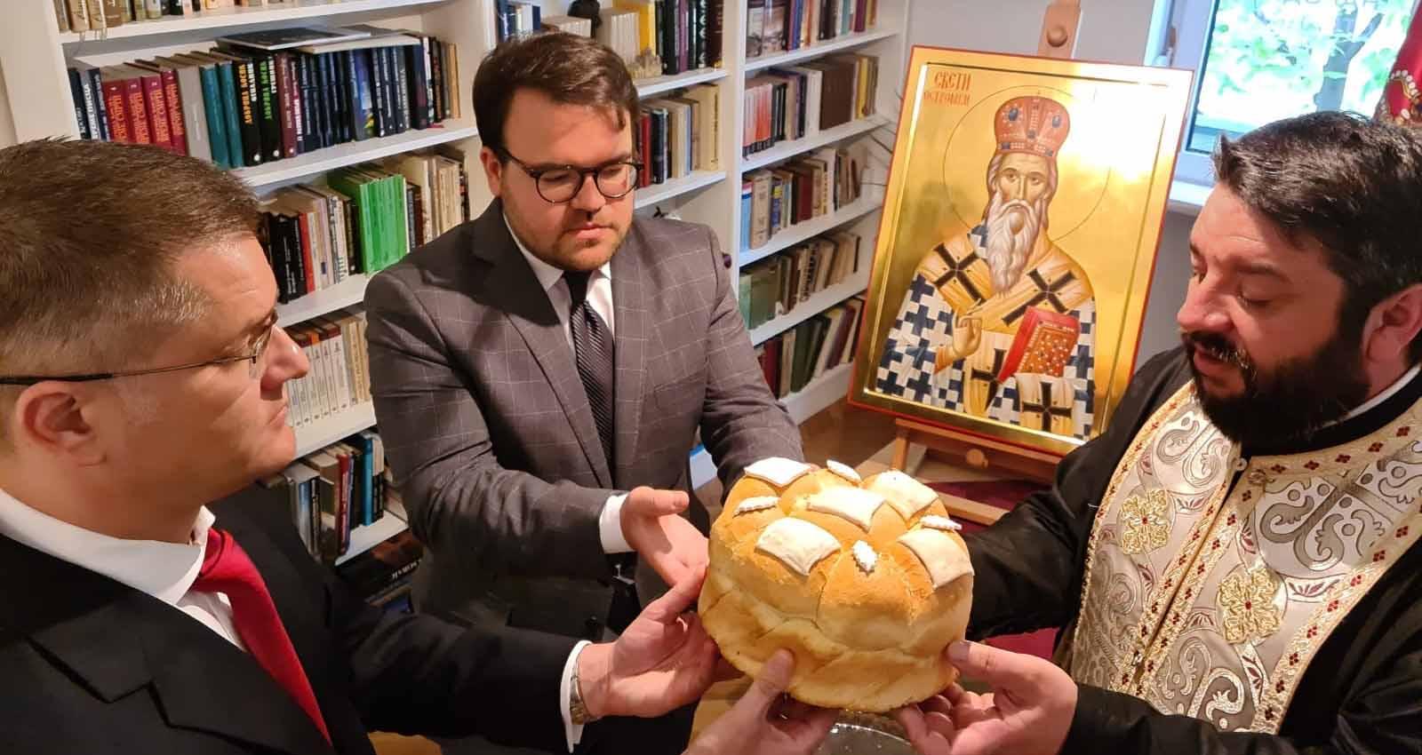 Народна странка прославила славу Светог Василија Острошког