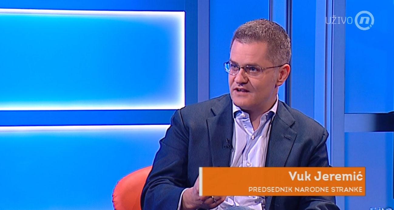 Јеремић: Само сујета спречава Вучића да сруши бојкот и одложи изборе за септембар