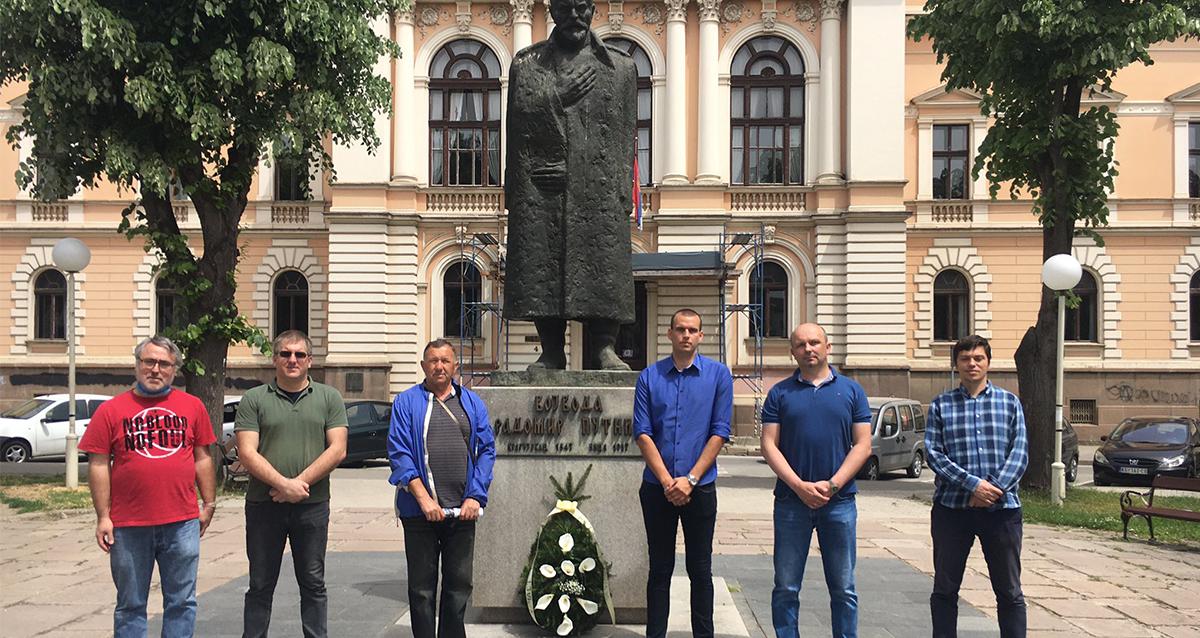 Народна странка Крагујевац обележила годишњицу смрти Радомира Путника