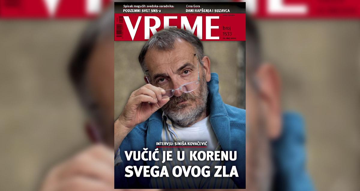 Ковачевић за Време: Могуће је победити Вучића, народ је власник гласова