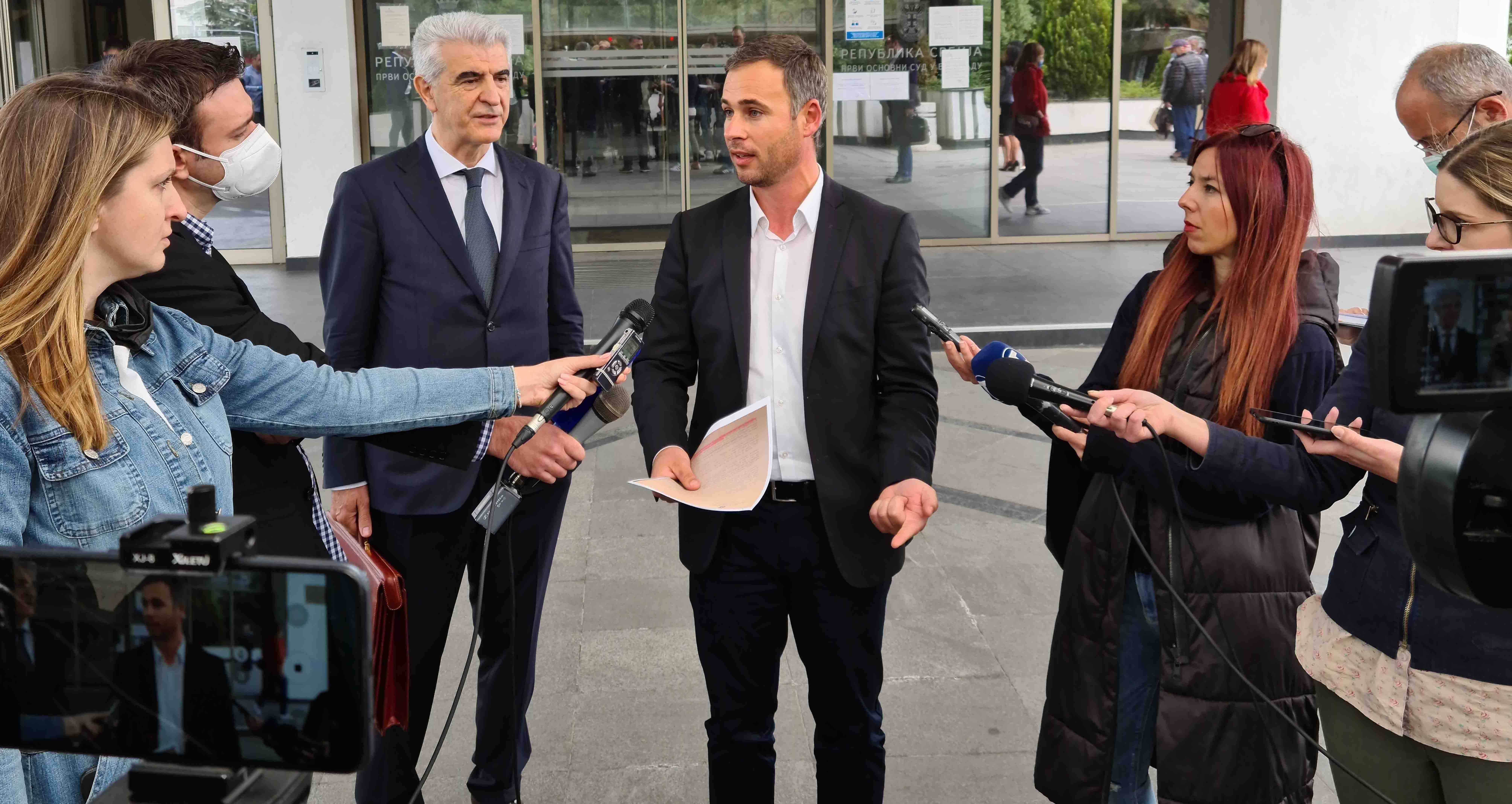 Алексић после суђења са Андрејем Вучићем: Тачно је све што сам рекао о Јовањици