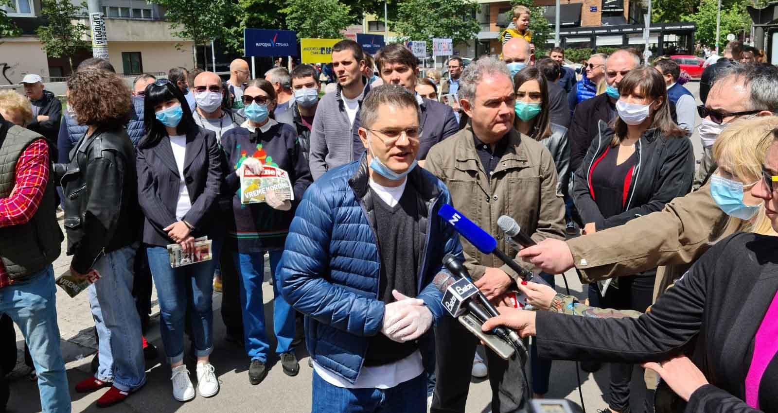 Јеремић: Бојкот је најбољи начин отпора лажним и намештеним изборима