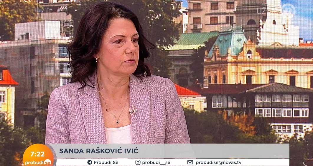 Санда Рашковић Ивић: Бахата и безосећајна Биљана Поповић Ивковић да одступи са функције