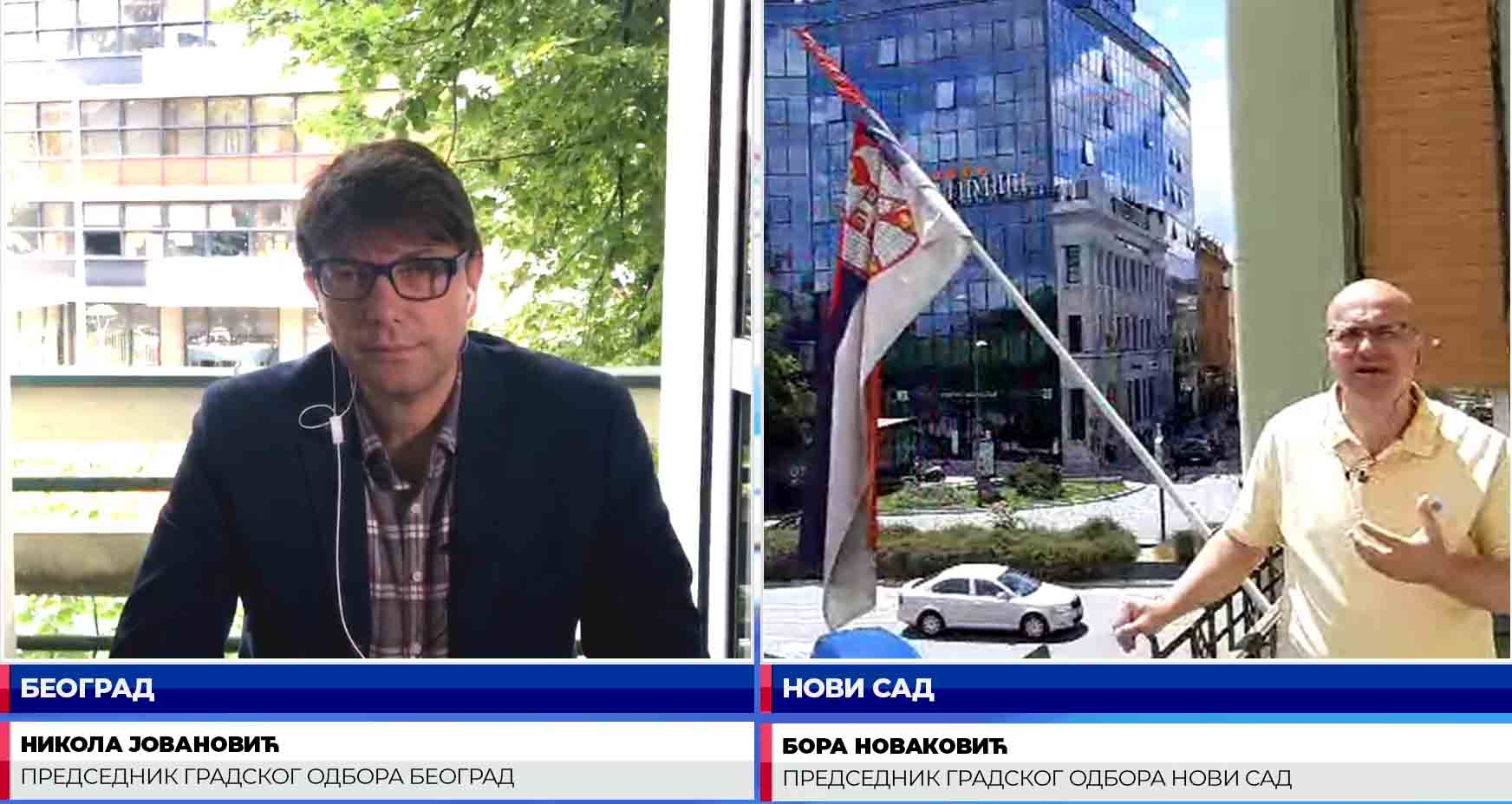 Новаковић и Јовановић: Новом Саду и Београду неопходне корените промене
