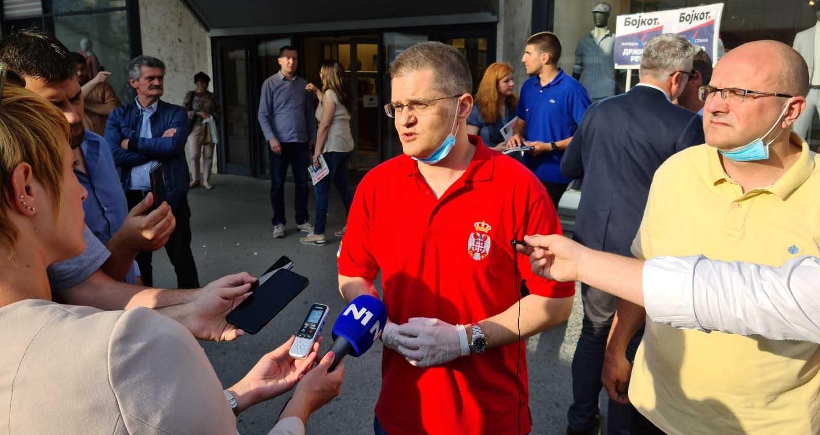 Јеремић: Једва чекам да истекне рок за предају изборних листа