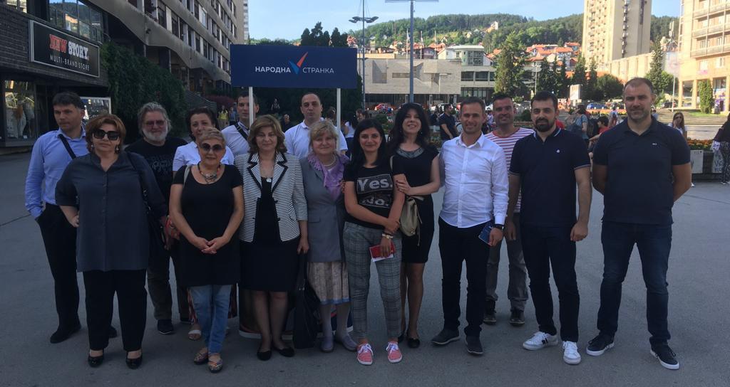 Алексић: Бојкот спречава разарање Србије