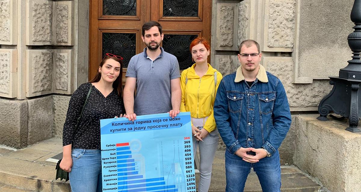 Омладина Народне странке: Смањити превисоке акцизе на гориво којима се пљачкају грађани